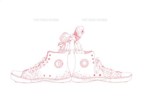 スニーカーキス ピンク FYI00110523