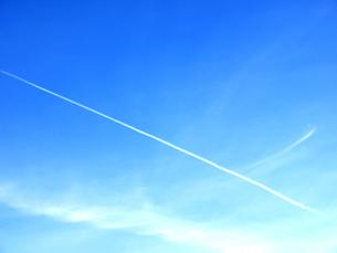 飛行機雲の写真イラスト画像素材 Foryourimages
