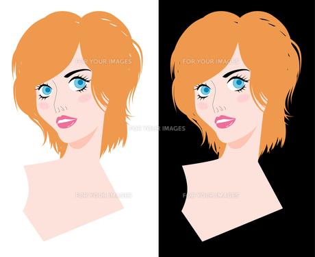 女性の顔 FYI00120608