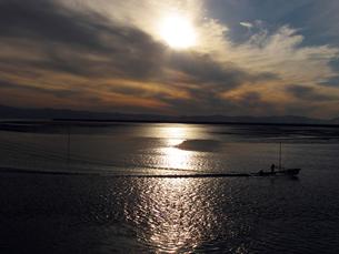 有明海の夕日 FYI00121740