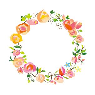 花のフレーム FYI00125922