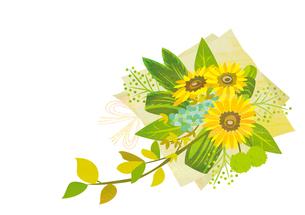 ひまわりの花束 FYI00125951