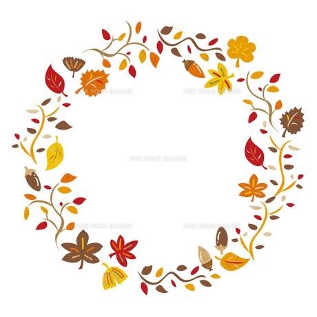 秋のフレーム FYI00125953