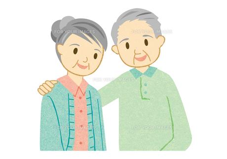 仲の良い老夫婦 FYI00125967
