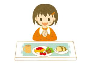 食事する子供2 FYI00125998