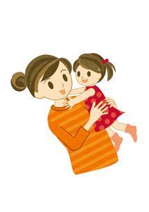 ママと女の子 FYI00126069