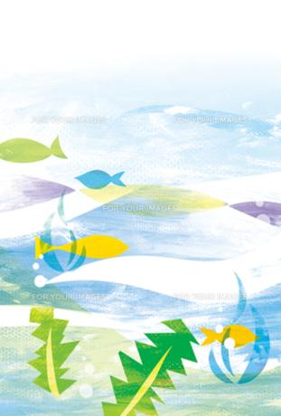 暑中見舞い「海」 FYI00126070