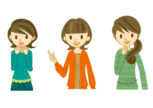 笑顔の主婦たち FYI00126076