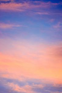 夕方の空 FYI00127982