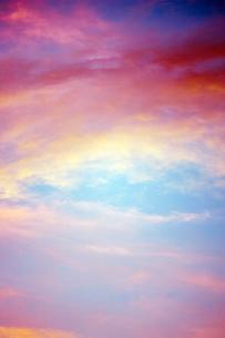 夕方の空 FYI00128002