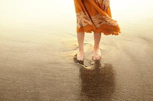 夏の日の浜辺 FYI00128388