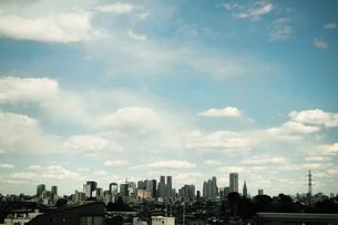 永福町からの新宿新都心のビル群 FYI00128397