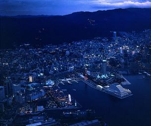 神戸メリケンパーク 夜景 FYI00131581