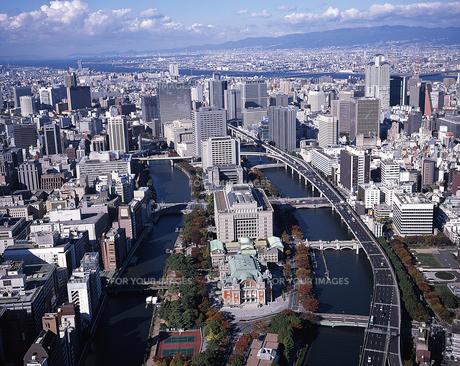 水都 大阪(中之島)空撮 FYI00131604
