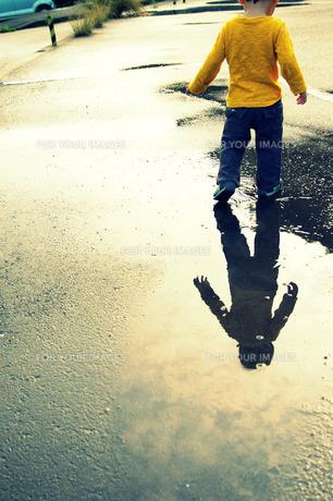 雨あがりの散歩 FYI00134575