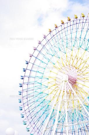 空と虹色観覧車 FYI00144816