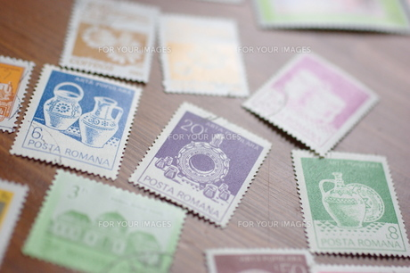 外国の古い切手 FYI00144858