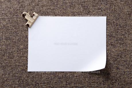 布とクリップと紙 FYI00147906
