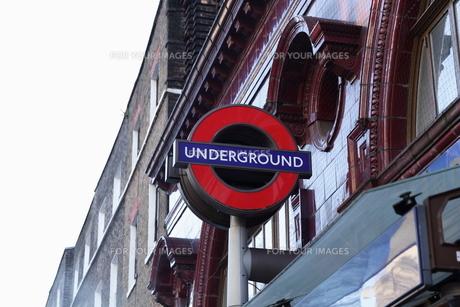 ロンドン 地下鉄表示 FYI00151322