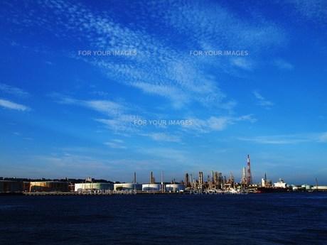 青空と工場 FYI00152887