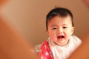 赤ちゃんの笑顔 FYI00168520
