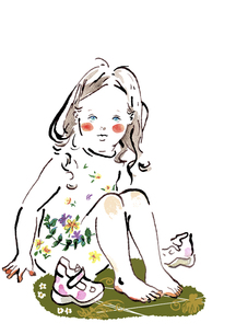 裸足の女の子 FYI00172192