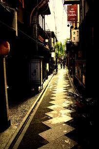 先斗町の裏路地 FYI00180878