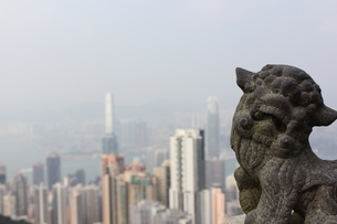 香港と狛犬 FYI00185517