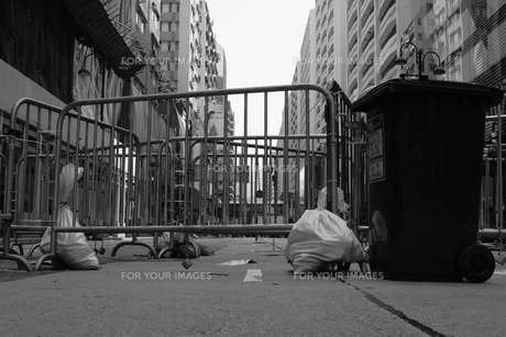 香港 デモ バリケード FYI00185581