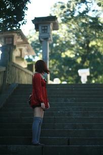 女と階段 FYI00185677