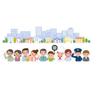 地域の人々 街並 集合 集まり FYI00187800