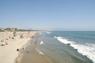 サンタモニカのビーチにて FYI00187839