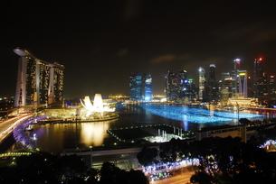 シンガポールの夜景 FYI00187842