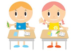 授業中の子供 FYI00189947