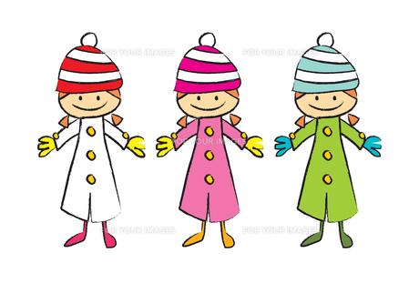 冬服の女の子 FYI00189986
