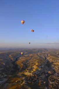 トルコ カッパドキア 気球から FYI00192888