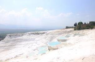 トルコ パムッカレ 石灰棚の白 FYI00192910