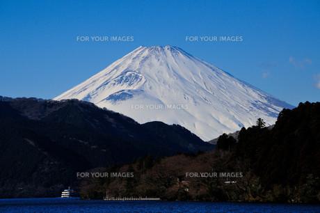 富士山〜芦ノ湖より〜 FYI00193535