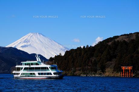 芦ノ湖〜冬の情景〜 FYI00193536