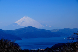富士山と芦ノ湖 FYI00193575
