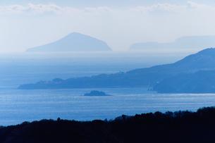 山の上から伊豆七島 FYI00193595