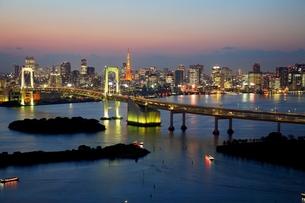 東京の夕暮れ FYI00198714