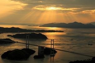 しまなみ海道の夕景 FYI00198719