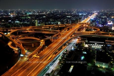 大阪の夜景 FYI00198736