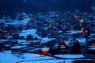 冬の白川郷 FYI00198743