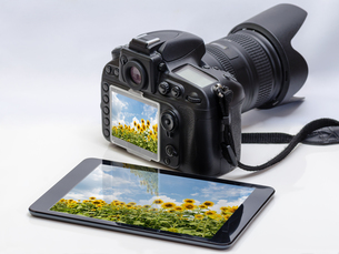 カメラとタブレット FYI00200234