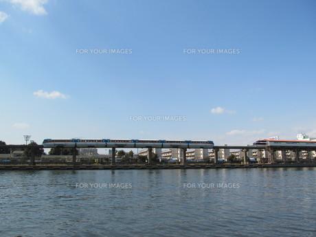 京浜運河と東京モノレール FYI00201065