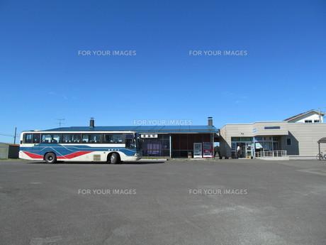 豊富駅とバス FYI00201116