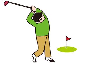 ゴルフで健康管理 FYI00205413