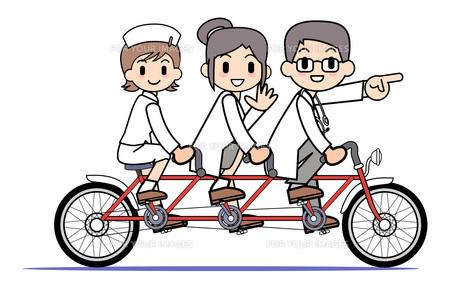 タンデム自転車 医療チーム FYI00205932